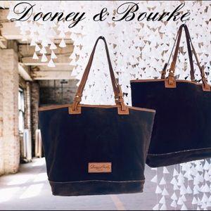 Dooney & Bourke Large Suede Hobo Shoulder Bag